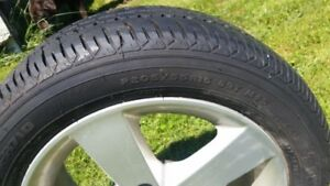 2008 Honda Civic Alloy rims and tires