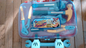Mickey mouse roadster tool kit