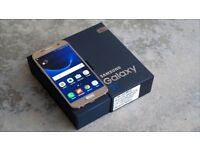 Samsung galaxy s7 Gold 32gb unlocked with samsung waranty