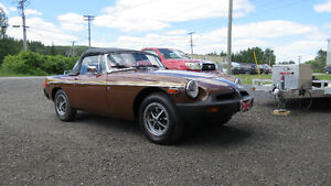 1980 MGB! Very low mileage! Will consider trades!