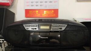 Panasonic-portable stereo CD system RX-DS17