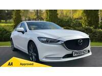 Mazda 6 2.0 Sport Nav+ 4dr - Front/Rea Saloon Petrol Manual
