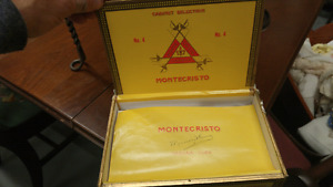 Montecristo Cigar Box $20