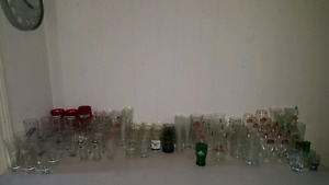 Collection of glass all kinds
