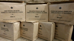 IMP MRE MILITARY MILTAIRE  ARMY ARMEE RATION