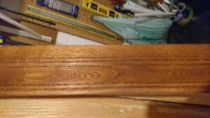 Oak Baseboards