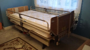 Electric Full Size Hospital Bed