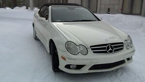 2007 Mercedes-Benz CLK 550 AMG PACKAGE Cabriolet/Decapotable