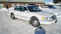 2001 Lincoln Continental. Calgary Alberta Preview