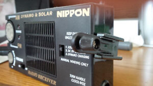 Solar Radio - 4 ways of powering