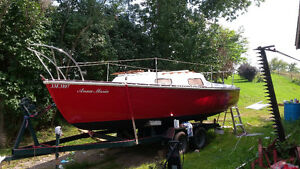 Wonderful 22 ft sailboat