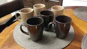 6 mugs perfect condition $5 for all