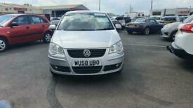 image for 2008 58 VOLKSWAGEN POLO 1.4 MATCH AUTOMATIC 3 DOOR IN SILVER.LOW MILEAGE.2KEY