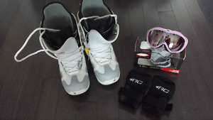 Snowboard  Boots and Accessories