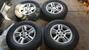 Lexus GX470 winter tires