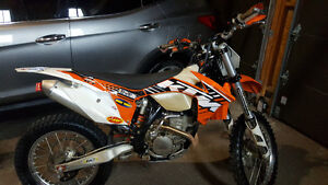 ktm 250xcf blue plated
