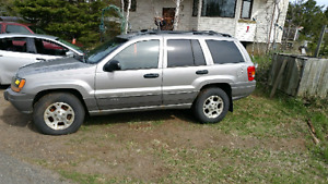 2000 jeep grand Cherokee for parts
