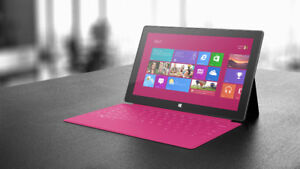 Surface RT Pink Touch Keyboard Case