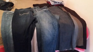 ladies jeans and dress pants