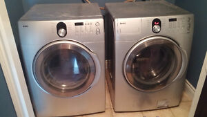 Kenmore front load washer and dryer