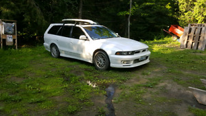 JDM RHD Mitsubishi Legnum wagon twin-turbo AWD