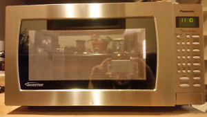 Panasonic Stainless Inverter Microwave (Great Condition)