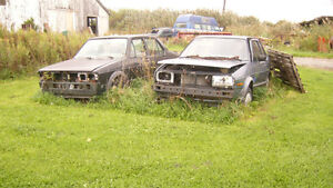 mk 1,2,3 jettas for parts or rods