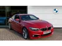 2018 BMW 4 Series 440i M Sport 2dr Auto [Professional Media] Petrol Coupe Coupe