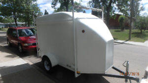 Trailers Unlimited Shuttle 2000 covered utility  trailer