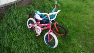 Two kids bikes free