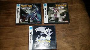 Pokemon games for Nintendo DS