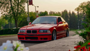 1995 BMW E36 Hellrot Red M50 Coupe