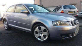 2003 53 AUDI A3 2.0TDI SPORT.STUNNING COLOUR.BOSE UPGRADE.AMAZING MPG.SUPERB CAR