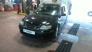 2006 Saab 93-2.0Turbo Wegen fully loaded very low km like new