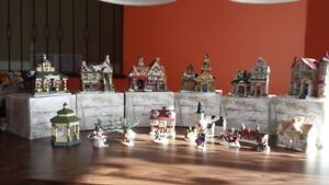 Christmas decorations - Houses - Carousel - NEW PRICE