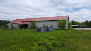 WATERFRONT endless possibilities ..89 ACRES with Storage Sheds!!