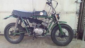 1973 DMP 80cc Mini Bike Vintage Hodaka Fugi