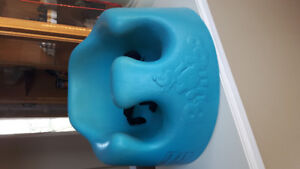 Blue Bumbo Seat - perfect condition