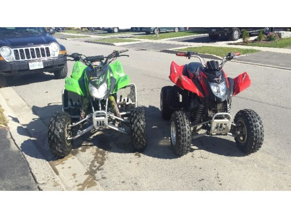 Used 2004 Arctic Cat DVX 400 & DVX 250