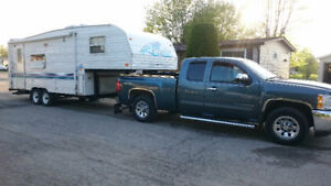 Truck and trailer