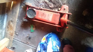 winch and floor jack
