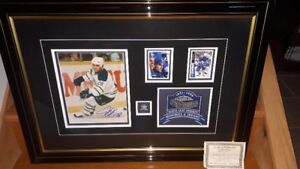Signed Tie Domi and Maple Leaf Gardens Collectable