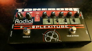 Radial Plexitube 2 channel real tube distortion