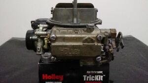 Rebuilt Holley 600 cfm Carb #1850-2 with Electric Choke
