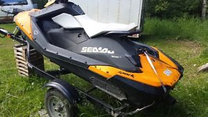 Moving out of province Must Sell!! Sea Doo Spark 60hp w Trailer