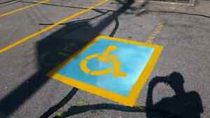 Warehouse Line Painting - Parking lot Line Painting  Cambridge Kitchener Area image 2