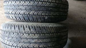 I have set of tires all season.215 70R15