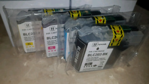 LC203 Brother ink cartridges set