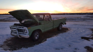 1976 Ford F100 drives good