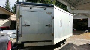 sled trailer enclosed